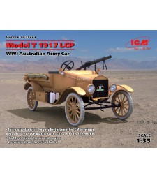 1:35 Australian Army Car Model T 1917 LCP, WWI
