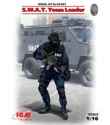 1:16 S.W.A.T. Team Leader (100% new molds) - 1 figure