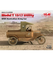 1:35 Model T 1917 Utility, WWI Australian Army Car