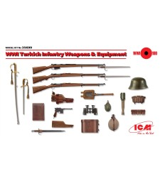 1:35 WWI Turkich Infantry Weapons & Equipment (100% new molds)