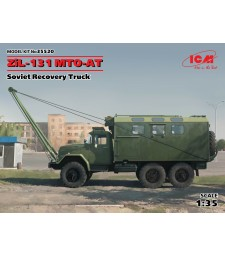 1:35 ZiL-131 MTO-AT, Soviet Recovery Truck