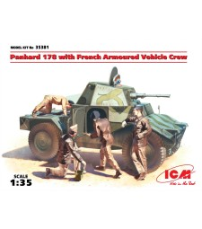 1:35 Panhard 178 with French Armoured Vehicle Crew