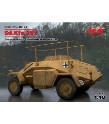 1:48 Sd.Kfz.261, German Radio Communication Vehicle