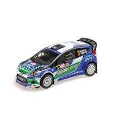 FFORD FIESTA RS  WRC - FORD WORLD RALLY TEAM - LATVALA/ANTTILA - WINNER WALES RALLY GB 2012  L.E. 504 pcs.