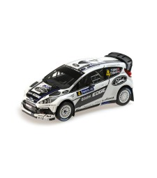 FORD FIESTA RS  WRC - FORD WORLD RALLY TEAM - SOLBERG/PATTERSON - RALLY FINLAND 2012 L.E. 504 pcs