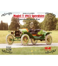 1:24 Model T 1913 Speedster, American Sport Car