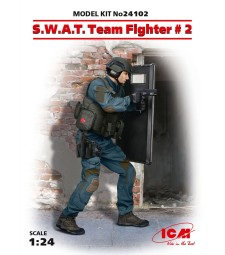 1:24 S.W.A.T. Team Fighter #2