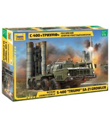 "1:72 S-400 ""TRIUMF"" MISSILE SYSTEM"