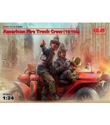 1:24 American Fire Truck Crew (1910s) (2 figures) (100% new molds)