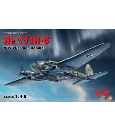1:48 He 111H-6, WWII German Bomber