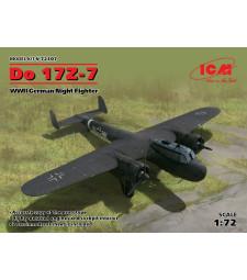 1:72 Do 17Z-7, WWII German Night Fighter