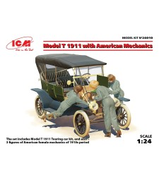 1:24 Model T 1911 Touring with American Mechanics (3 figures)