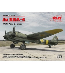1:48 Ju 88A-4, WWII Axis Bomber