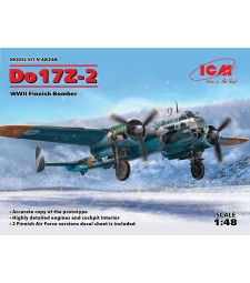 1:48 Do 17Z-2, WWII Finnish Bomber