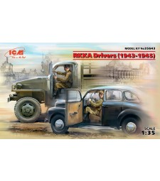 1:35 RKKA Drivers (1943-1945) (2 figures) (100% new molds)