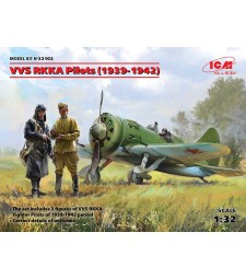 1:32 VVS RKKA Pilots (1939-1942) (3 figures) (100% new molds)