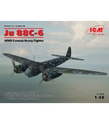 1:48 Ju 88С-6, WWII German Heavy Fighter