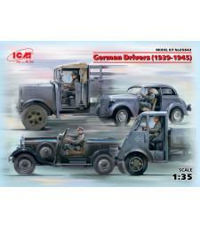 1:35 German Drivers (1939-1945) (4 figures) (100% new molds)