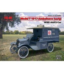1:35 Model T 1917 Ambulance (early), WWI AAFS Car