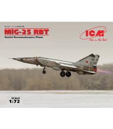 1:72 MiG-25 RBT, Soviet Reconnaissance Plane (100% new molds)