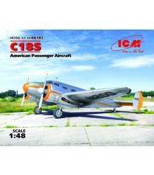 1:48 C18S, American Passenger Aircraft