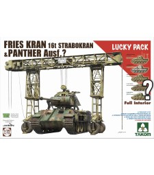 1:35 FRIES KRAN 16t Strabokran, 1943/44 Production combined with Panther (with full interior) - Lucky Pack
