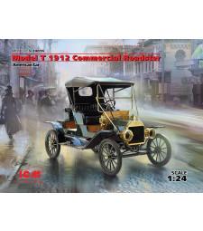 1:24 Model T 1912 Commercial Roadster, American Car