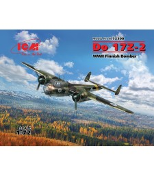 1:72 Do 17Z-2, WWII Finnish Bomber