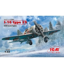 1:32 I-16 type 29, WWII Soviet Fighter