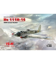 1:48 He 111H-16, WWII German Bomber