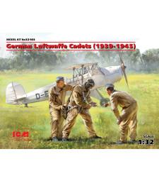 1:32 German Luftwaffe Cadets (1939-1945) (3 figures) (100% new molds)