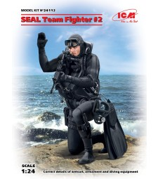 1:24 S.E.A.L. Team Fighter #2 (100% new molds) - 1 figure