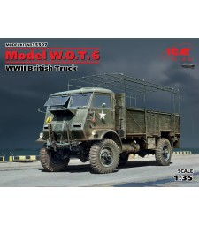 1:35 Model W.O.T. 6, WWII British Truck (100% new molds)