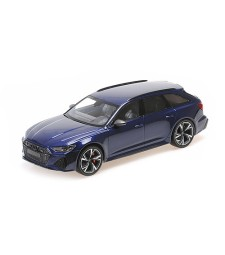 AUDI RS 6 AVANT - 2019 - BLUE METALLIC