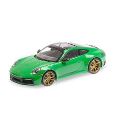 PORSCHE 911 CARRERA 4S - 2020 - GREEN