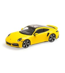 PORSCHE 911 (992)  TURBO S - 2020 - YELLOW