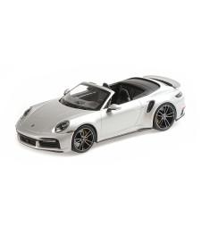 PORSCHE 911 (992)  TURBO S CABRIOLET - 2020 - SILVER
