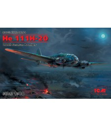1:48 He 111H-20, WWII German Bomber