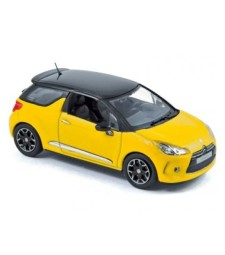 Citroеn DS3 2010 - Yellow with black roof