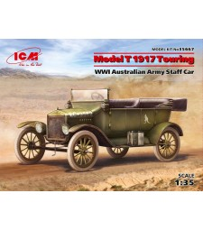 1:35 Model T 1917 Touring, WWI Australian Army Staff Car