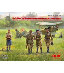 1:48 U-2/Po-2VS with Soviet Pilots & GP (1943-1945)