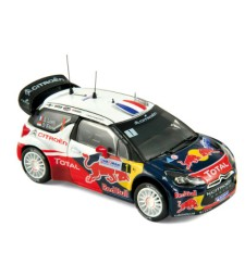 Citroеn DS3 WRC World Champion Rallye de France 2012 Loeb/Elena