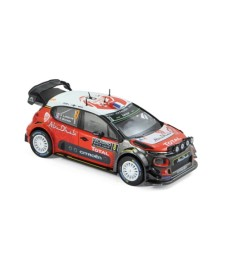 Citroen C3 WRC N°8 - S.Lefebvre/G.Moreau - Monte Carlo 2017