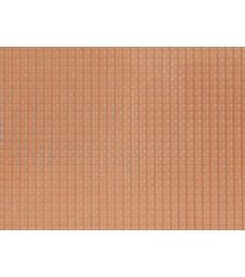 Pantile, red (28 x 10 cm) - 3D flexible foils