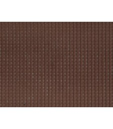 Pantile, dark red (28 x 10 cm) - 3D flexible foils