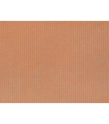 Roof Tile, red (28 x 10 cm) - 3D flexible foils