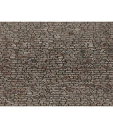 Quarrystone Wall (28 x 10 cm) - 3D flexible foils