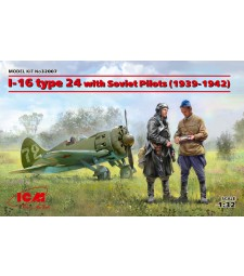 1:32 I-16 type 24 with Soviet Pilots (1939-1942)