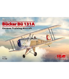1:32 Bucker Bü 131A, German Training Aircraft