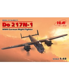 1:48 Do 217N-1, WWII German Night Fighter (100% new molds)